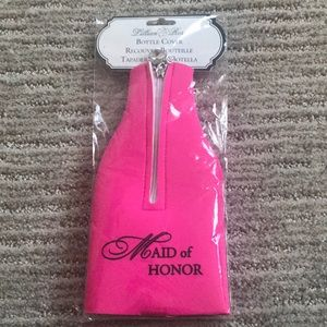 Maid of honor beer koozie never used